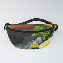 Flowers at Dusk Fanny Pack