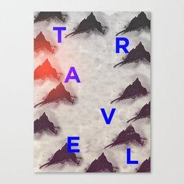 Fjell Canvas Print