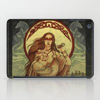 mother iPad Cases featuring Mother by Natasa Ilincic