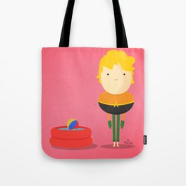 Aquaman: My liquid hero! Tote Bag