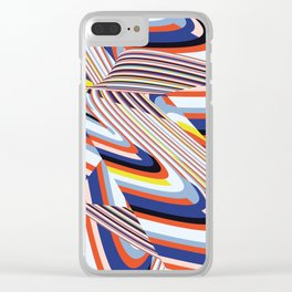Over Lines Clear iPhone Case