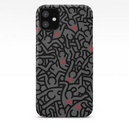 Keith Haring Variation #32 iPhone Case