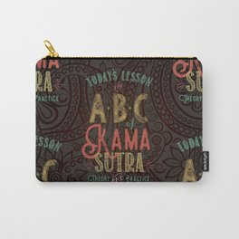 Kama Sutra Lessons Carry-All Pouch