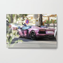 LP700-4 in Purple Metal Print