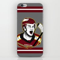 picard iPhone & iPod Skins featuring Alexandre Picard by Kana Aiysoublood