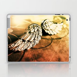 The Angel Has Landed Laptop & iPad Skin