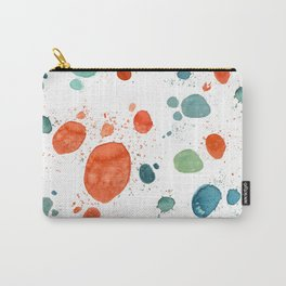 ramdom watercolor Carry-All Pouch