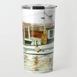 Honfleur - Pêche Traditionnelle Travel Mug