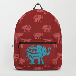 I got this blue elephant Backpack