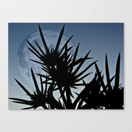 Se Holly and the moon. Canvas Print