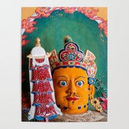 Tibet: Buddhist artwork in Gyantse Poster