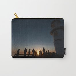 Fishing by the Sunset Carry-All Pouch
