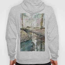 spring forest Hoody