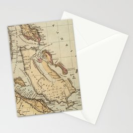 Vintage Map of The Bahamas (1823) Stationery Cards