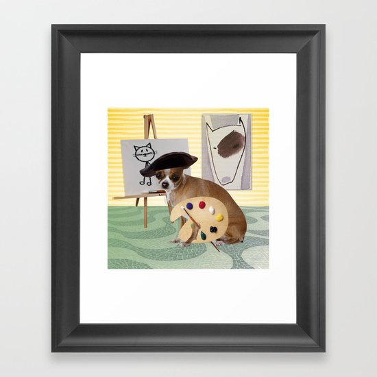 Zee Arteest! Framed Art Print