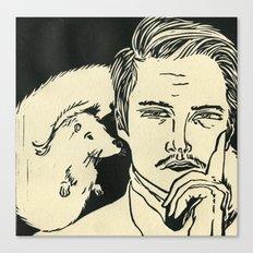 Animal Spirits-Otter Canvas Print