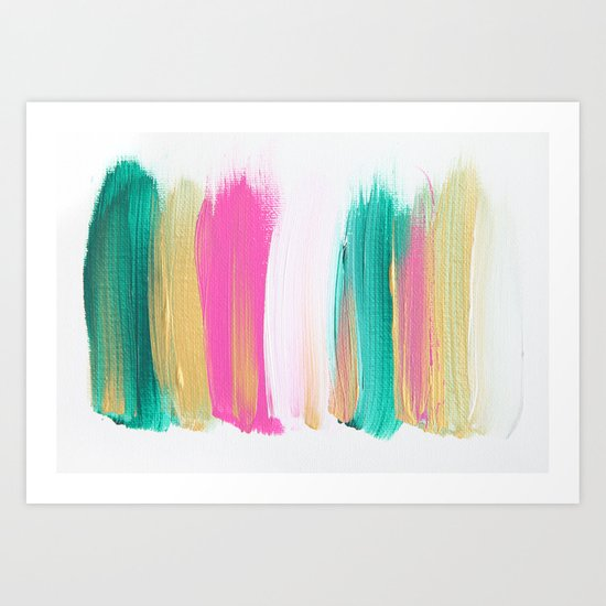 Colors 223 Art Print