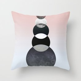 Moon Quintuplet Throw Pillow