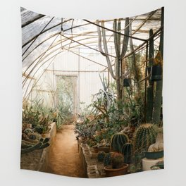Desert Cactus and Succulent Garden, Palm Springs Wall Tapestry