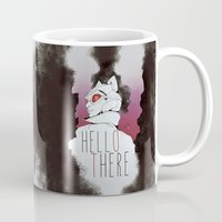 catwoman Mugs featuring Catwoman ♥ by KanaHyde