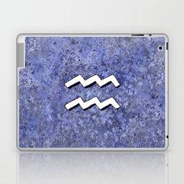 Zodiac sign : Aquarius Laptop & iPad Skin