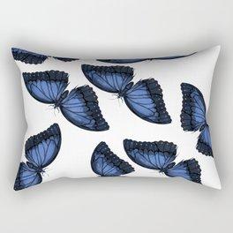 Butterfly Pattern Rectangular Pillow