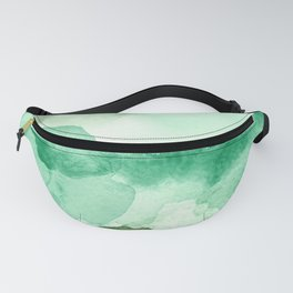 Meadow Pool Abstract Fanny Pack
