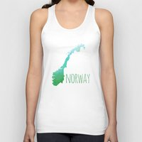 norway Tank Tops featuring Norway by Stephanie Wittenburg