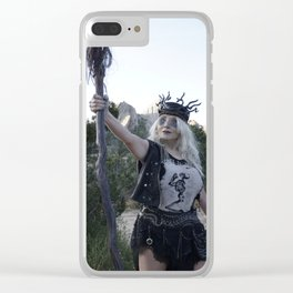 Victory Clear iPhone Case