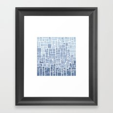 city planning Framed Art Print