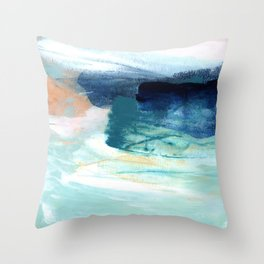 brushstrokes 14 Throw Pillow