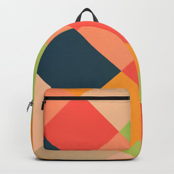 GEOMETRIC PATTERN 734 Backpack