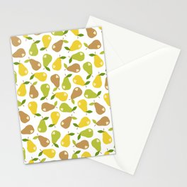 Bitten pears Stationery Cards