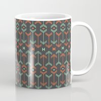 arrow Mugs featuring Arrow by Priscila Peress