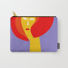 Vive la Mode Minimal French Art Illustration Carry-All Pouch