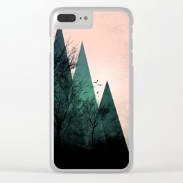 TREES VII Clear iPhone Case