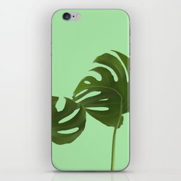 Monstera madness V iPhone Skin