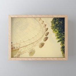 That Summer in London - Fine Art Travel Photography Framed Mini Art Print