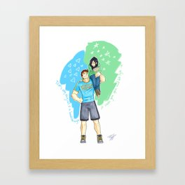 Eliza and Wallace Framed Art Print