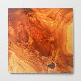 Fantstic Wood Grain Metal Print