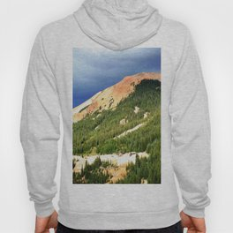 Sunlight Before the Storm, on the Gold Mines of Red Mountain Hoody
