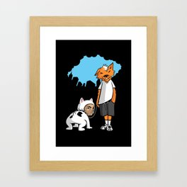 UnderDog Framed Art Print