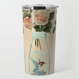 bottled spring Travel Mug