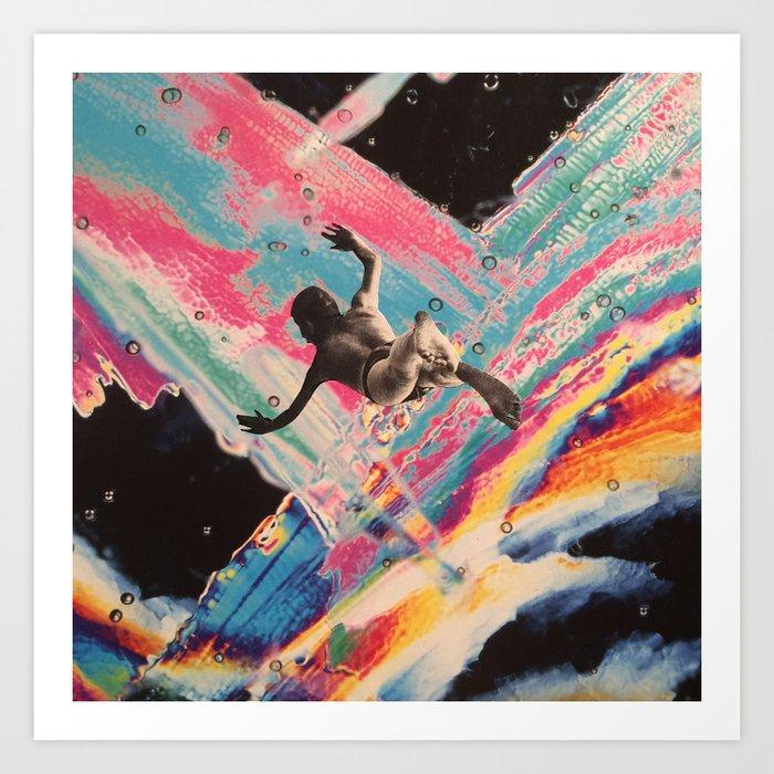 Acid trip Kunstdrucke