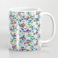 splatter Mugs featuring Splatter by Regan McDonell Design