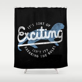 Exciting Shower Curtain