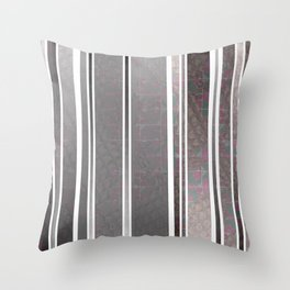 Vertical poppies S14 Throw Pillow