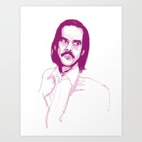 nick cave Art Prints featuring Nick Cave by 1and9