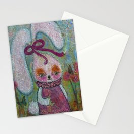Tabitha Rabbit - Whimsies of Light Children Series Stationery Cards