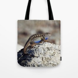 Western Fence Lizard Tote Bag